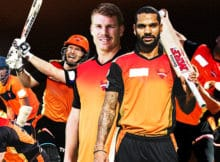 Sunrisers hyderabad team SRH