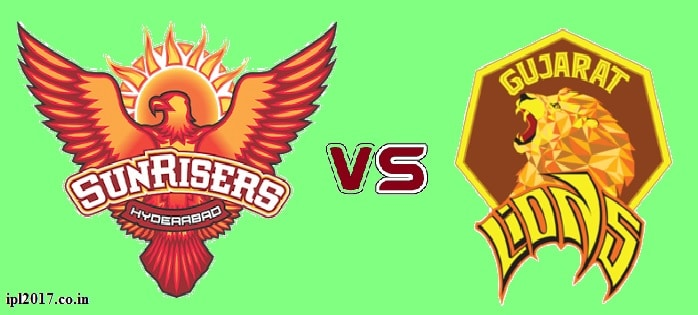 srh vs gl prediction ipl 2017