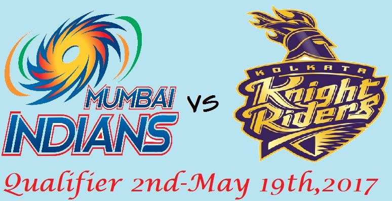 MI vs KKR Qualifier 2 IPL 2017