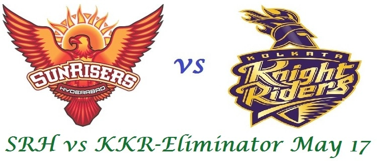 SRH vs KKR Eliminator Prediction IPL 2017