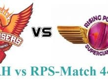 SRH vs RPS prediction IPL 2017